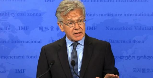 Αποτέλεσμα εικόνας για Τύπου του ΔΝΤ Τζέρι Ράις